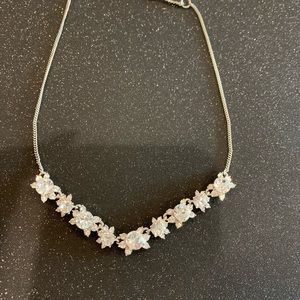 Beautiful Givenchy Silver Necklace